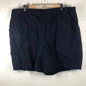 Croft & Barrow navy blue shorts size 42